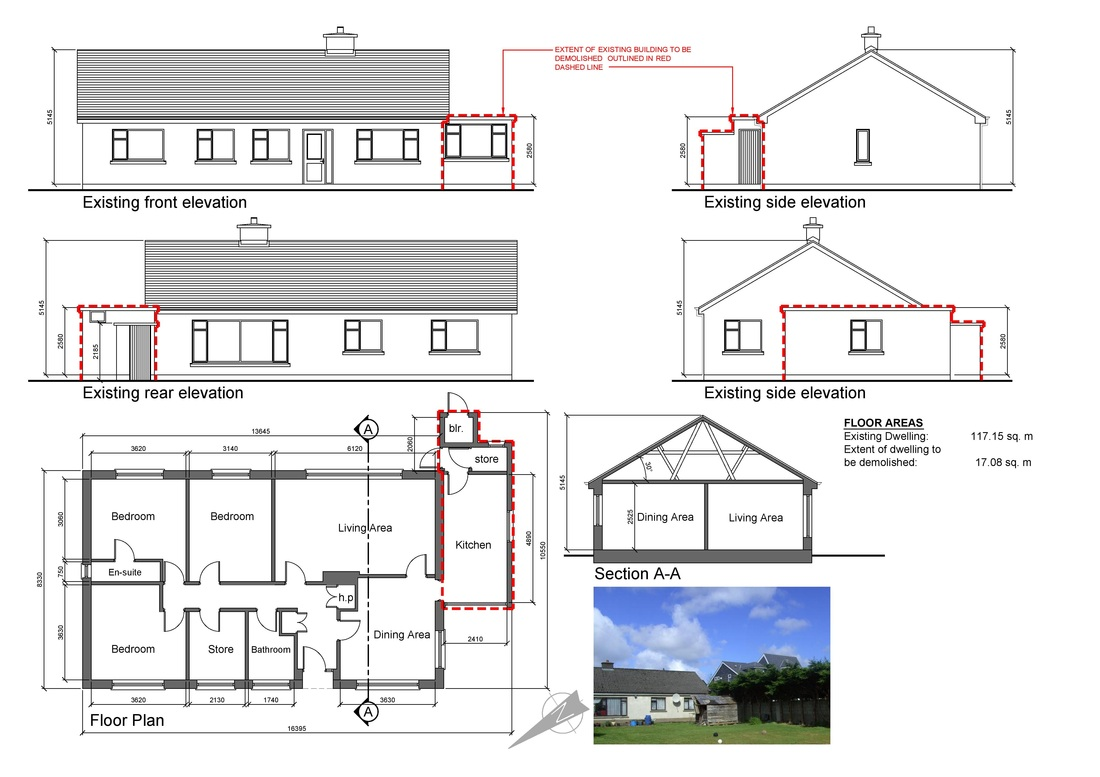 5169412 Orig How To Draw A House Extension Plan House Plans 2017 On How To Draw Your